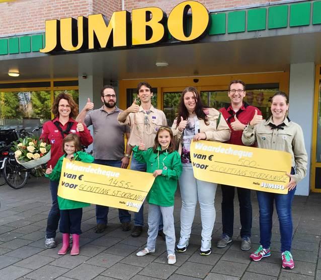 scouting rooi sint-oedenrode jumbo muntenactie winnaar